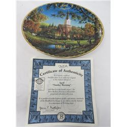TERRY REDLIN SEASONS TO REMEMBER PLATES (APRIL)