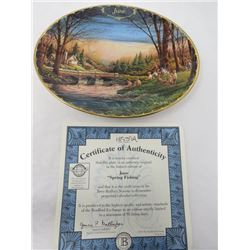 TERRY REDLIN SEASONS TO REMEMBER PLATES (JUNE)