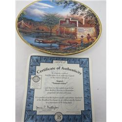 TERRY REDLIN SEASONS TO REMEMBER PLATES (AUGUST)
