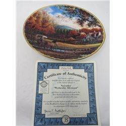 TERRY REDLIN SEASONS TO REMEMBER PLATES (NOVEMBER)