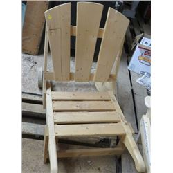 PATIO PORTABLE LAWN CHAIR
