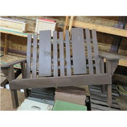 WOODEN LAWN CHAIR  *HANDMADE BY GORDON BRAATEN*