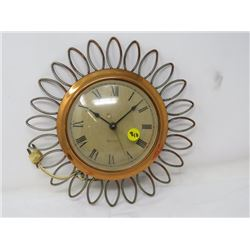 ELECTRIC CLOCK (RETRO) *WESTCLOX* (MADE IN CANADA)