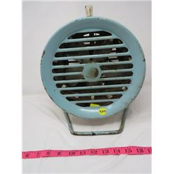 "ELECTRIC FAN/HEATER (10"" X 11""H)"