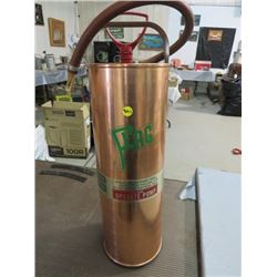 FIRE EXTINGUISHER (FLAG 1964) *COPPER-MODEL K315225*