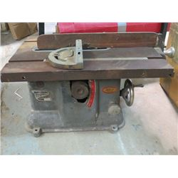 "SMALL TABLE SAW (W/SKF BEARINGS) *18"" X 13""*"