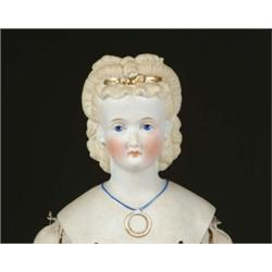 "24"" PARIAN WITH MOLDED HAIR"