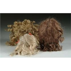 LOT OF GREAT MOHAIR WIGS