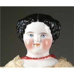 "31 1/2"" CHINA HEAD DOLL"
