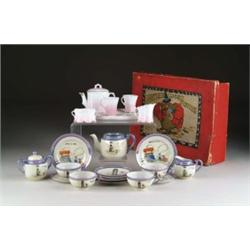 LOT OF 2 TEA SETS (1 W/ OB)