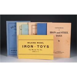 REPRINTED TOY CATALOGS