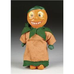 JACK-O-LANTERN FIGURE CANDY CONTAINER