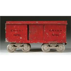 EARLY STANDARD LIONEL BOXCAR