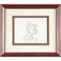 """""""PINOCCHIO"""" PRODUCTION DRAWING"""