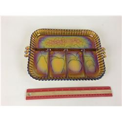 SERVING TRAY (IRIDESCENT GLASS)