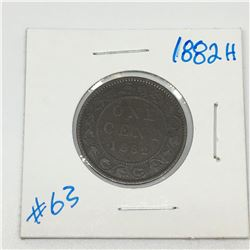 LARGE  PENNY (CANADIAN) *1882*