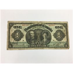 $1 BANK NOTE ( DOMINION OF CANADA) *1911*