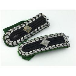 NAZI GERMAN SHOULDER BOARDS (WWII)