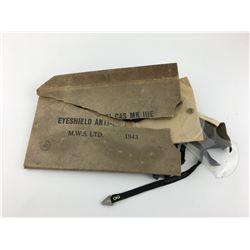 ANTI-GAS EYE SHIELDS (MK IIIE) *1943 WWII*