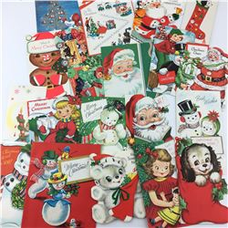 LOT OF CHRISTMAS CARDS  (1960S)