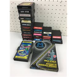 VIDEO GAME LOT (ATARI, COLECO AND MORE) *VINTAGE*