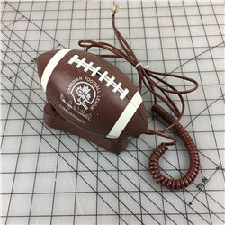 CFL FOOT BALL TELEPHONE (VINTAGE) * WORKING *