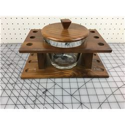 HUMIDOR PIPE STAND