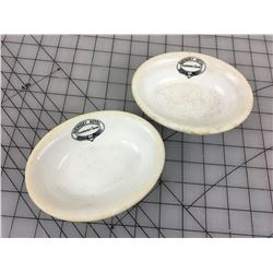 ANTIQUE HOTEL DISHES (GUERNSEY HOTEL, GUERNSEY SASK) * JOHN MADDOCK AND SONS*
