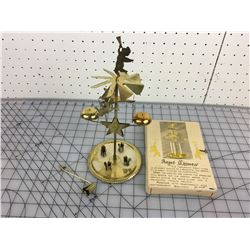 CANDLE POWERED ANGEL CHIMES (VINTAGE)