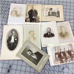 LOT OF PHOTOS ( ANTIQUE )