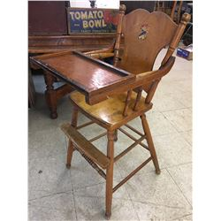 HIGH CHAIR (ANTIQUE)
