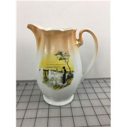 WATER PITCHER (ANTIQUE)