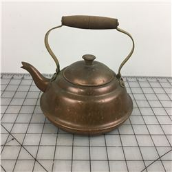 COPPER KETTLE TEA POT