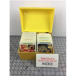 BETTY CROCKER RECIPE CARD BOX SET (VINTAGE)