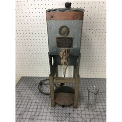 BROWN-DUVET GRAIN MOISTURE TESTER (GUTHERT CO. MINNEAPOLIS MINN)*ANTIQUE*
