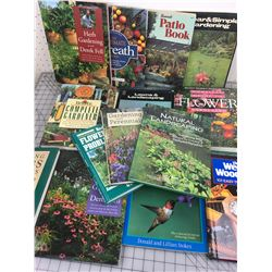 LARGE LOT OF YARD AND GARDEN BOOKS