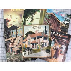 LOT OF CANADIAN HOMES MAGAZINES (1970S0