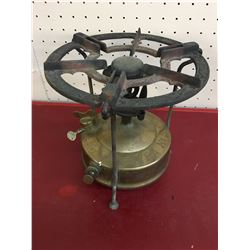 ANTIQUE STOVE (SIEVERT SVEA NO. 5 BRASS) *MADE IN SWEDEN*