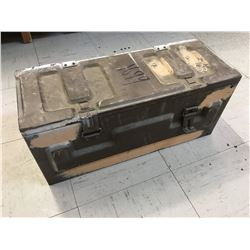"METAL AMMO BOX (22"" X 9"" X 10"")"