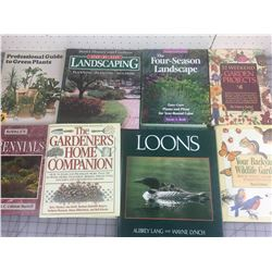 LOT OF 'GARDENING & WILDLIFE' BOOKS