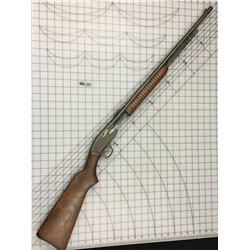 MODEL 29B SAVAGE ARMS PUMP ACTION 22. CAL RIFLE