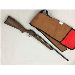 SURESHOT .22 CAL BOLT ACTION RIFLE & VINTAGE CASE