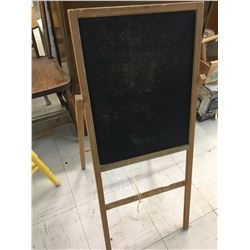 "VINTAGE CHALK BOARD STANDS *35""*"