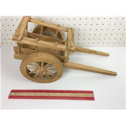 WAGON TOY (HOMEMADE WOODEN)