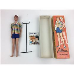 1960S ALLAN' DOLL IN BOX BY MATTEL * KEN'S BUDDY, EXCELLENT CONDITION *