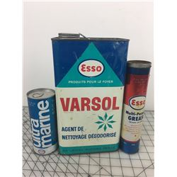 LOT OF 'ESSO OIL' CAN RELATED