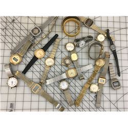 LOT OF 'VINTAGE' WRISTWATCHES