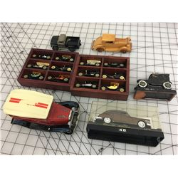 LOT OF CAR COLLECTIBLES *TABLE LIGHTER *