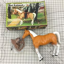 VINTAGE SEARS BIG BEAUTY TOY HORSE WITH BOX