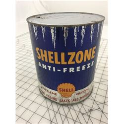 SHELL SHELLZONE ANTIFREEZE CAN